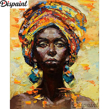 Dispaint Full Square/Round Drill 5D DIY Diamond Painting Oil painting beauty 3D Embroidery Cross Stitch Home Decor Gift A12979