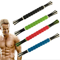 New Arrival 18inch Massage Stick Athletics Muscle Roller For Calf Legs Back Rehab Lactic Acid Recovery