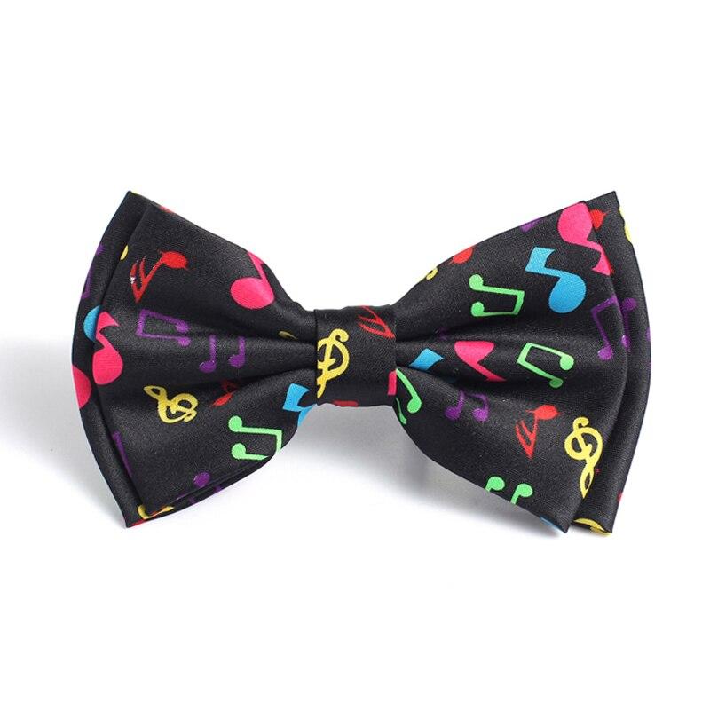Cravat Musical Bow Tie For Women Men's Unisex Fashion
