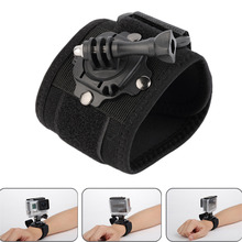 Gopro font b Accessories b font 360 Degree Rotating Wrist Hand Strap Band Tripod Mount Holder