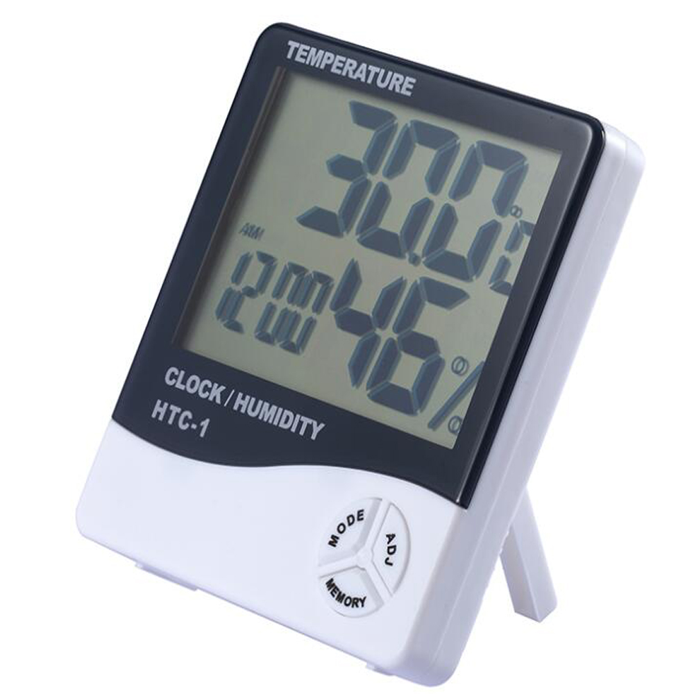digital thermometer hygrometer Temperature humidity tester Moisture meter thermometer fo ...