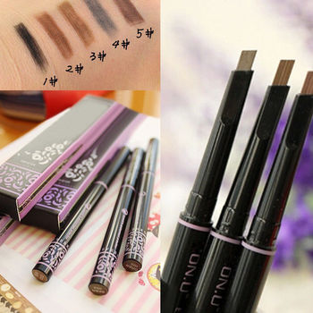 1 PC 5 Color Women Lady Waterproof Automatic Make up Cosmetic Eye Liner Eyebrow Pencil Eye Brow Pen Eyeliner Makeup Beauty Tool