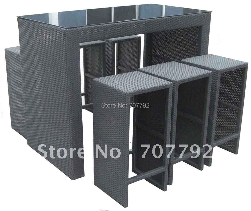 2017 hot sale elegant urban rattan garden bar furniture in for Furniture year end sale 2017