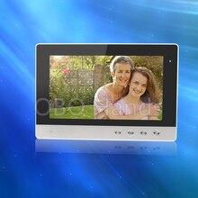 """10 """"TFT-LCD monitor de color video de la puerta teléfono de interior sin IR sistema de intercomunicación timbre de la cámara de visión nocturna de vídeo para DIY en venta"""