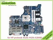 laptop motherboard for hp probook 4320s 4420s 628485-001 ATI Mobility Radeon HD 5430 DDR3