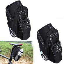 Outdoor Cycling MTB Bike Back Rear Seat Bicycle Bag Nylon Saddle Bags Bicycles Tail Pouch Accessories