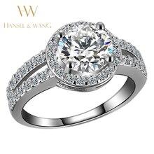 Hansel Wang Wedding Engagement Ring Stainless Steel Ring Rings for Women Fashion Rings for Women 2018