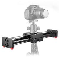 DSLR 카메라 소형 개폐식 트랙 돌리 슬라이더 50 센치메터 레일 촬영 비디오 안정제 100 센치메터 실제 슬라이딩 거리