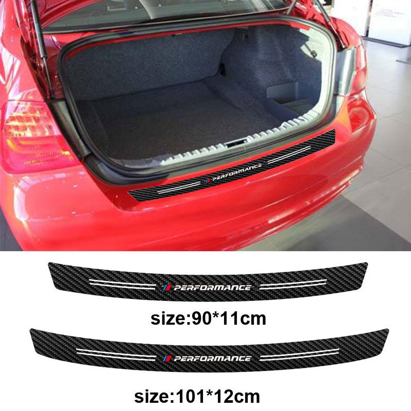Automobiles & Motorcycles Exterior Accessories For Bmw E36 E39 E46 E53 E60 E61 E64 E70 E71 E85 E87 E90 E83 F10 F20 3d 5d Carbon Fiber M Performance Car Rear Bumper Sticker