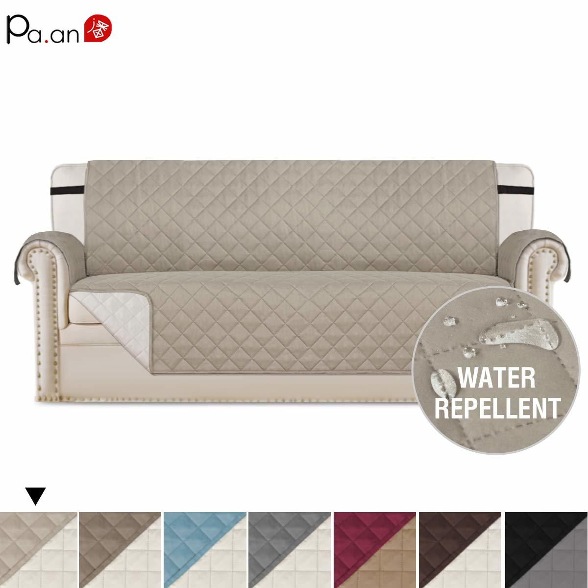 Pa.an One piece Sofa Cover Pets Protect Covers Slipcover Anti Slip Furniture Covers Set T L Shaped Pongee Waterproof Easyclean