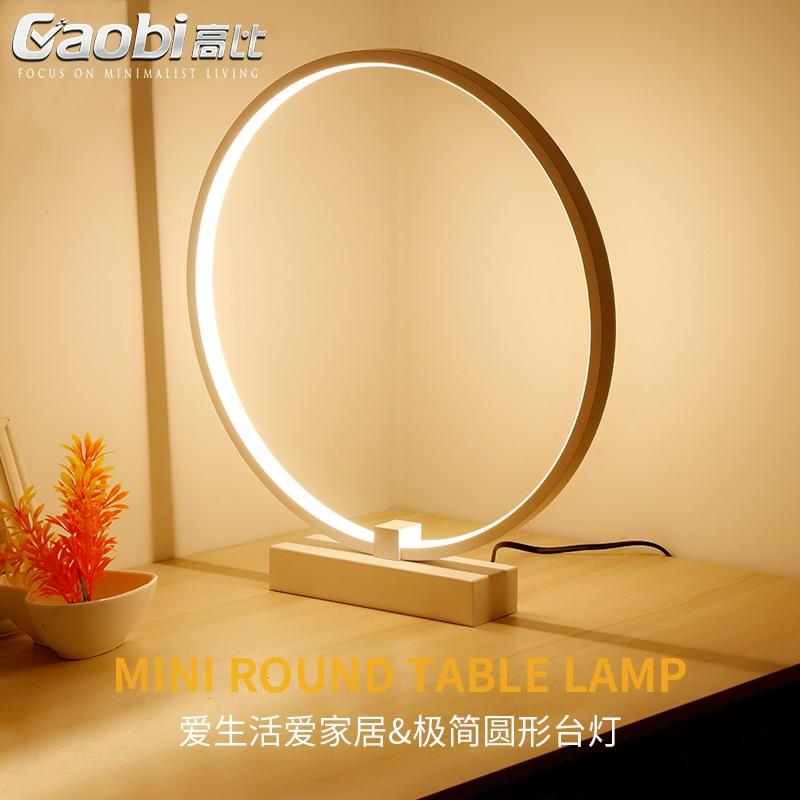 Nordic настольная лампа простой Abajur Творческий LED спальня ночники Рабочий стол письменный стол современные лампы освещения tafellamp Lamparas