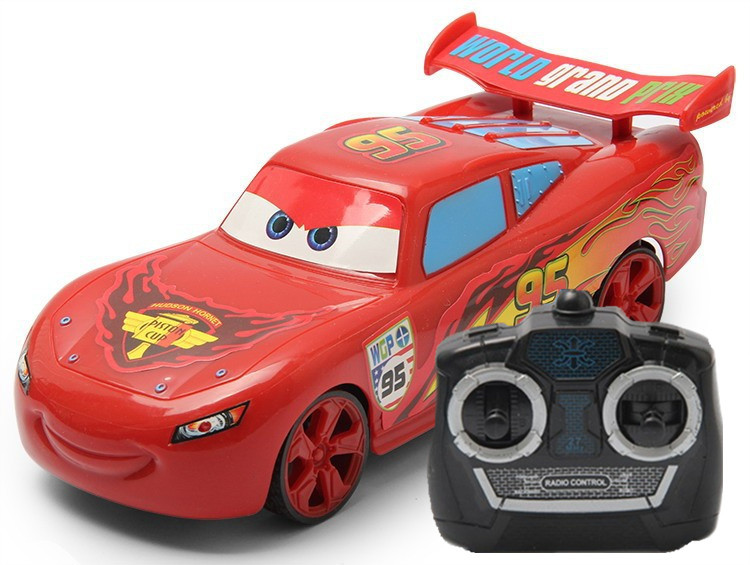 free shipping cartoon 4 channel remote control car electric toy for kids cute radio control rc