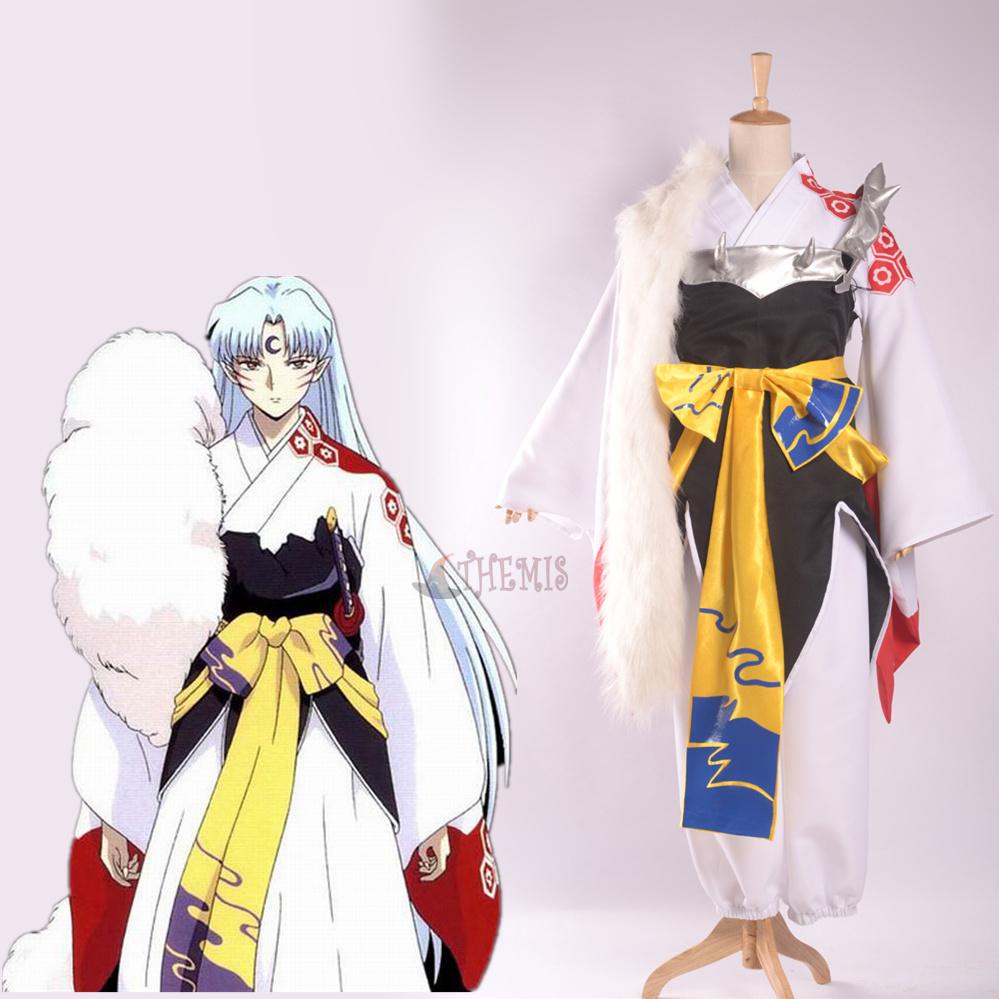 Athemis Anime Inuyasha Sesshoumaru Cosplay Costume custom made Dress High Quality santic mens windproof outdoor sports bike bicycle running fitness ciclismo pants winproof sports trousers clothing m 3xl