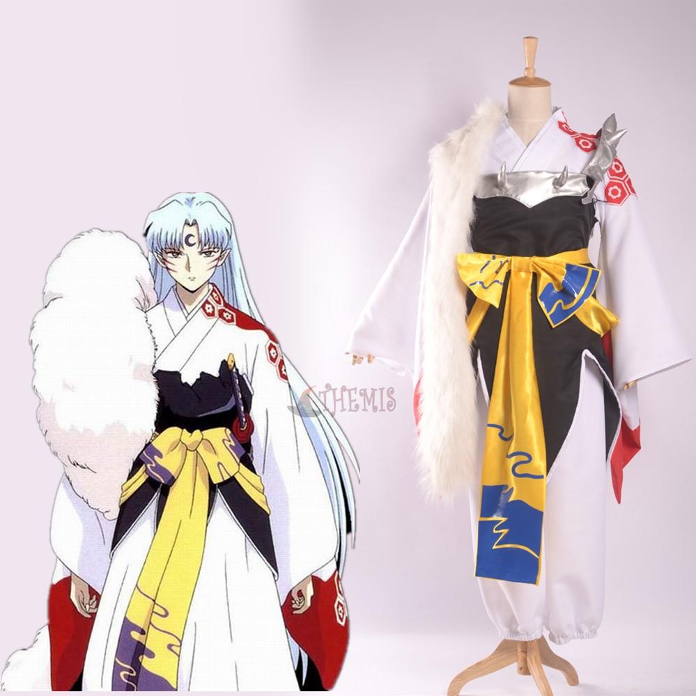 Athemis Anime Inuyasha Sesshoumaru Cosplay Costume custom made Dress High Quality teac lp r550usb rosewood