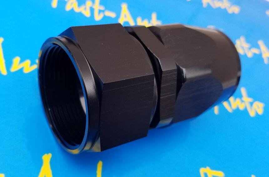 16AN AN16 AN-16 Shut Off Valve Fitting Aluminum Black