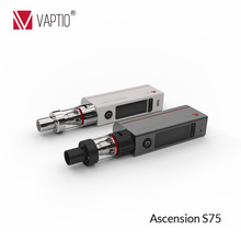 Popular Vaptio S75 electro hookah 75w variable wattage mod e juice vape mod
