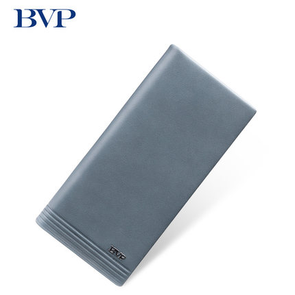 2017 Brand High Quality Long Wallet Genuine Leather for Men Cow Leather Business High-capacity Blue Gray Purse European J50 игрушка ecx ruckus gray blue ecx00013t1