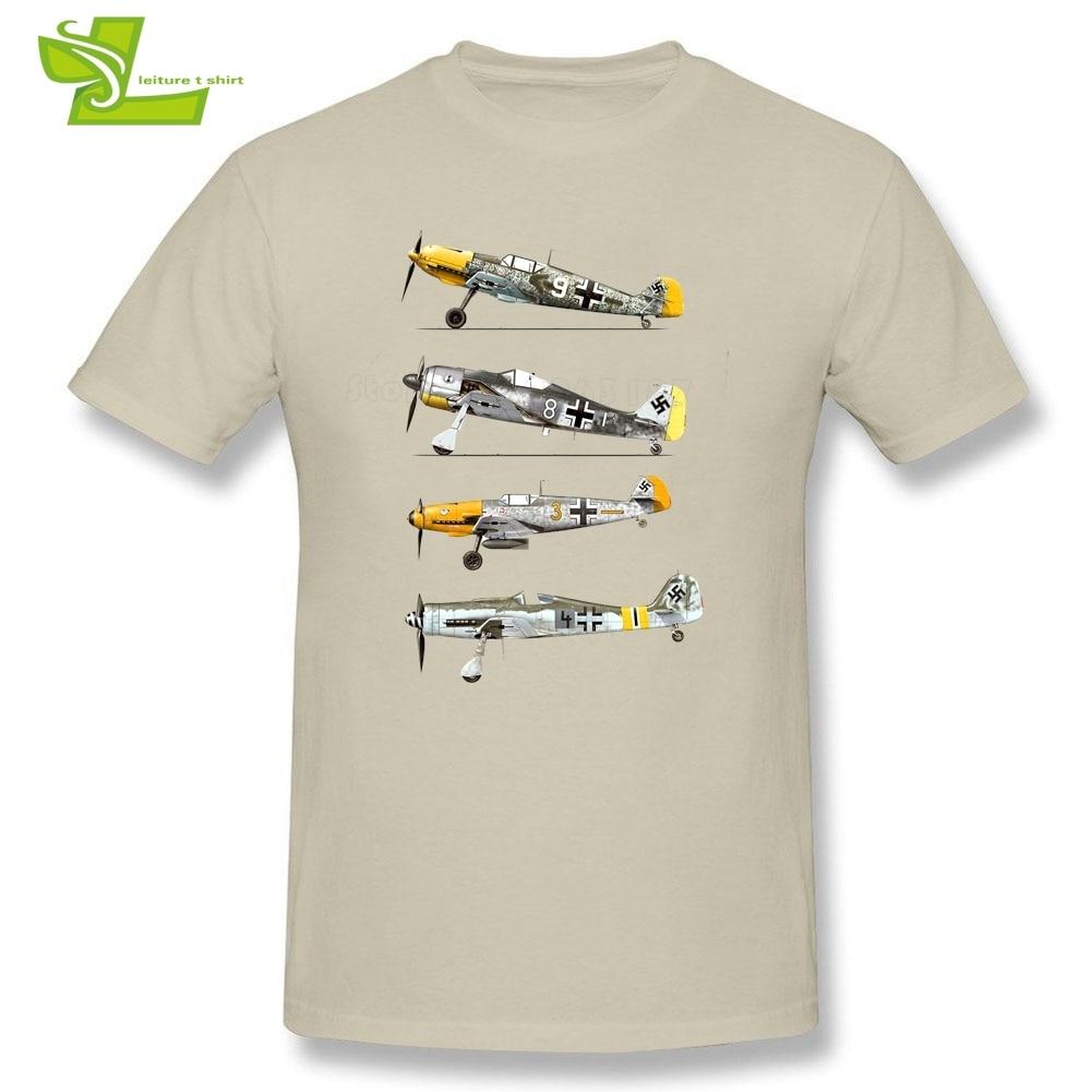 Aircraft Man T Shirt Erich Hartman Casual Custom Made Loose Tops Men's Summer O Neck Tshirts Dad Unique Tee Shirt Airplane Pilot