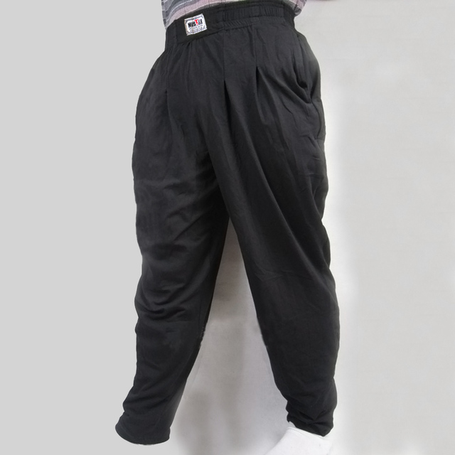 Men's Baggy Pants For Bodybuilding Loose Comfortable Workout Trouser Lycra Cotton High Elastic Designed For Fitness Gyms Clothes