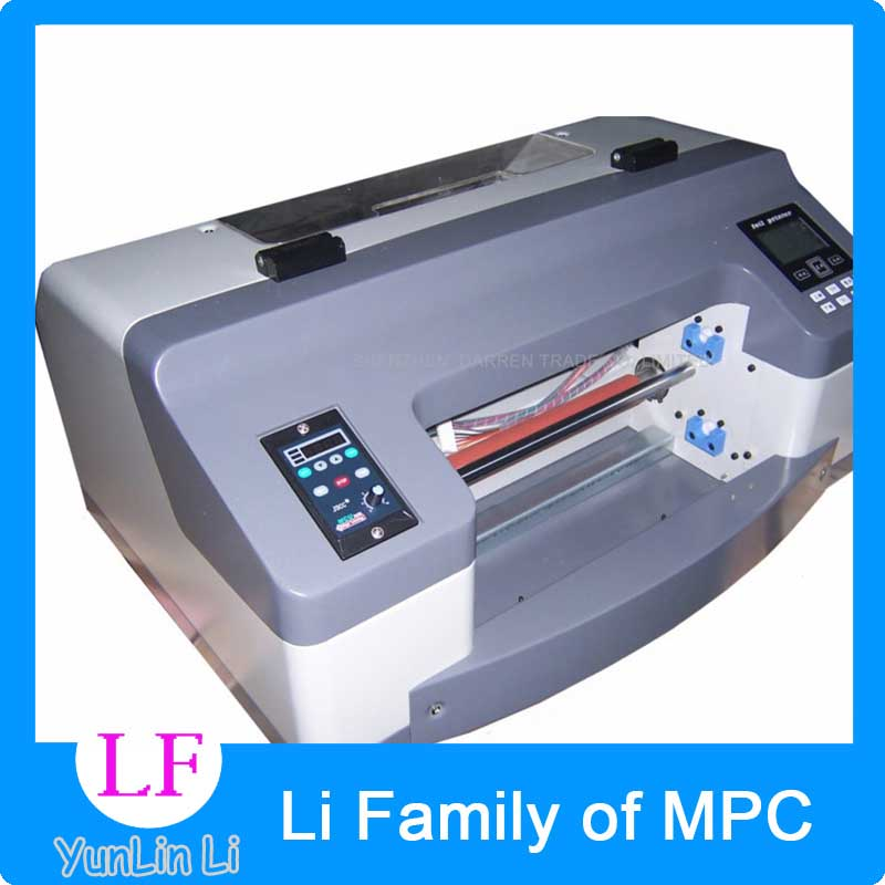300mm digital hot foil stamping printing machine Semi-Automatic Digital Label Printer DC300TJ 200dpi Flatbed printer expire date printing machine date code printer machine for printing expiration date