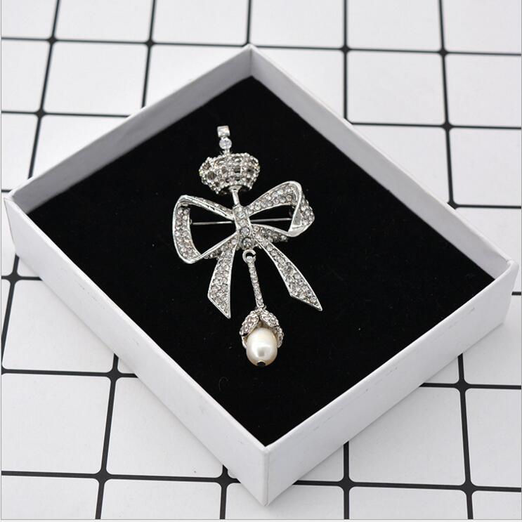 Online buy wholesale faux pearl brooch from china faux for High end gifts for women