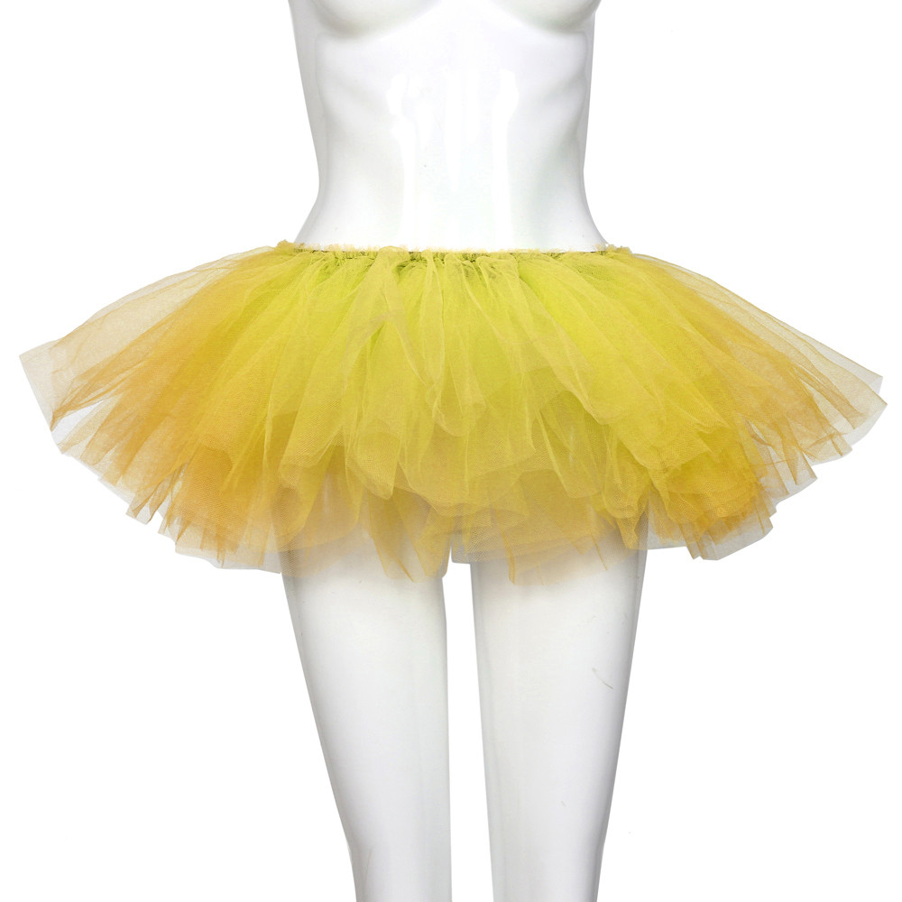 2019 MAXIORILL NEW Hot Sexy Fashion Pretty Girl Elastic Stretchy Tulle Adult Tutu 5 Layer Skirt Wholesale T4 49