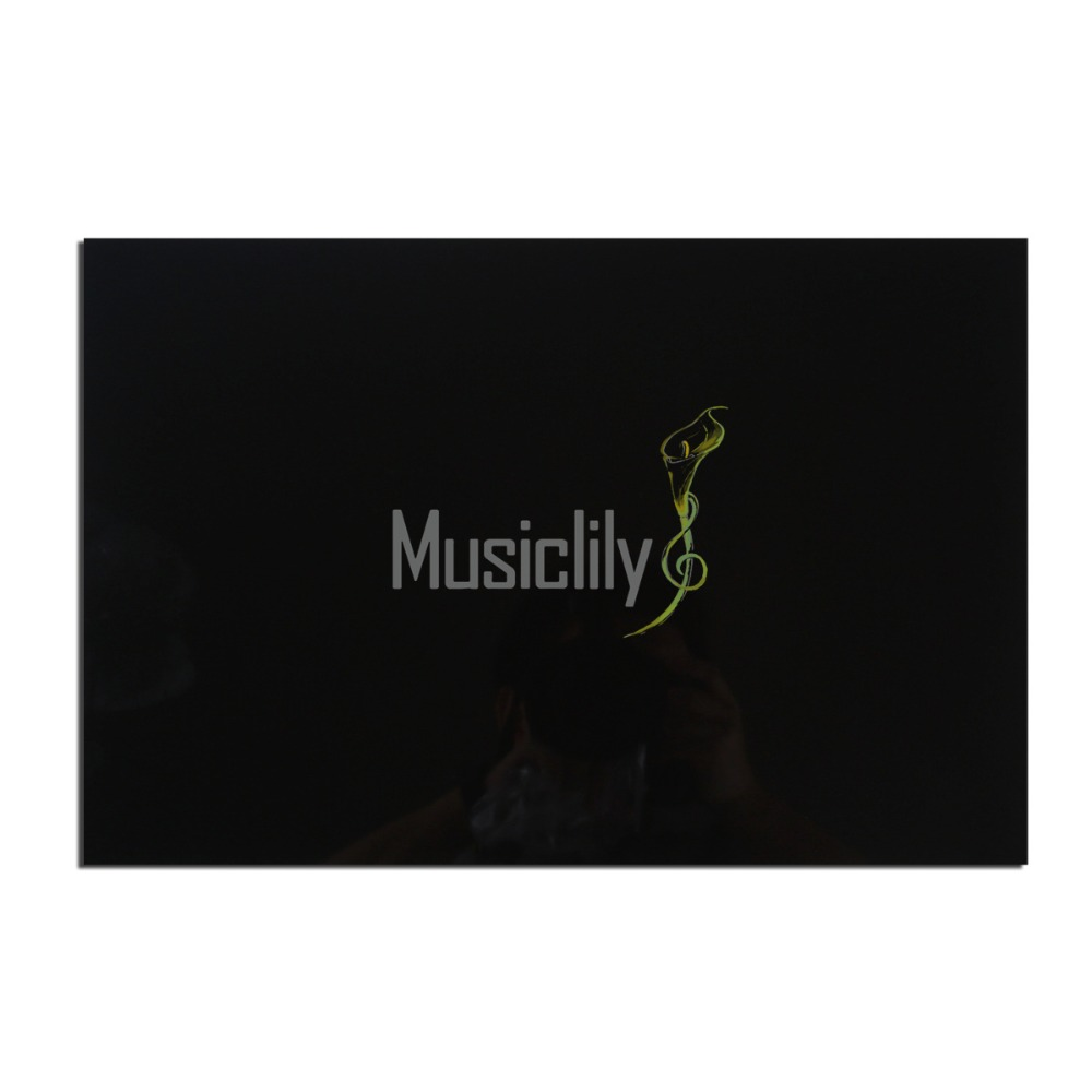 Musiclily Multiple Color 3Ply 290*435mm Electric Guitar Bass Pickguard Material Pick Guard Scratch Plate Sheet Blank musiclily 3ply pvc outline pickguard for fenderstrat st guitar custom