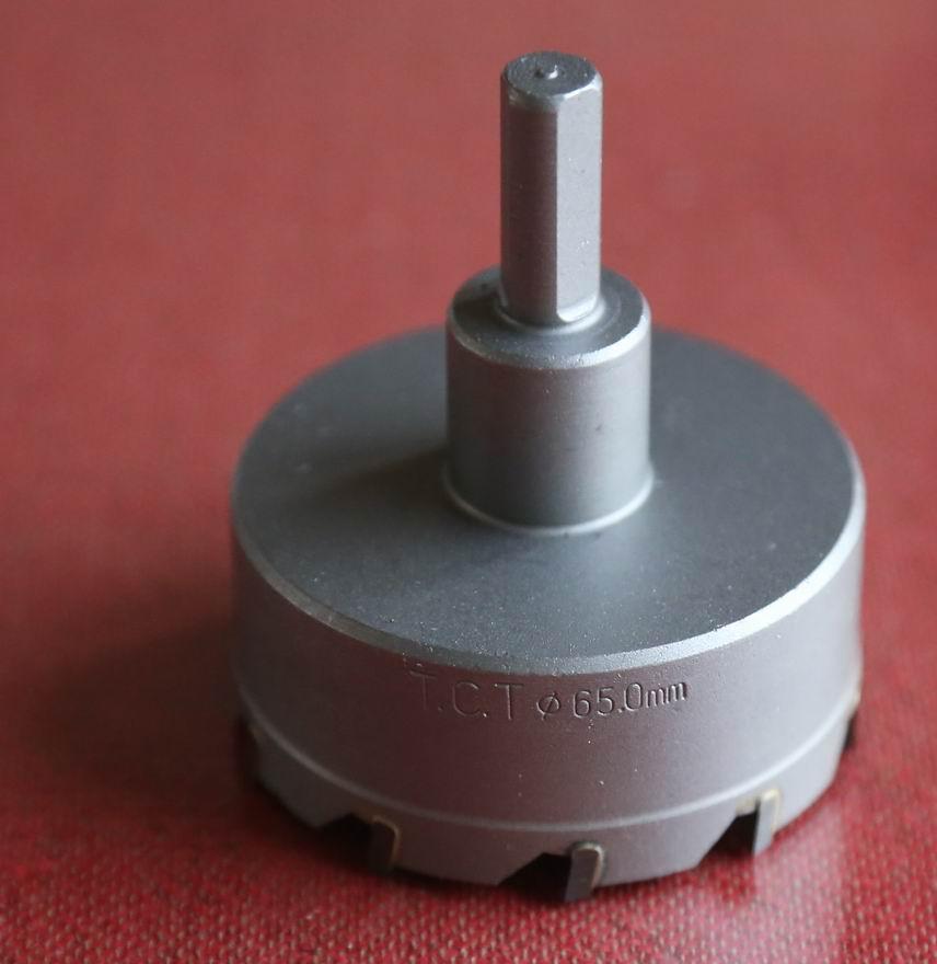 1 PZ diametro 63-100mm gamma TCT punta in acciaio per sega a tazza - Punta da trapano - Fotografia 6