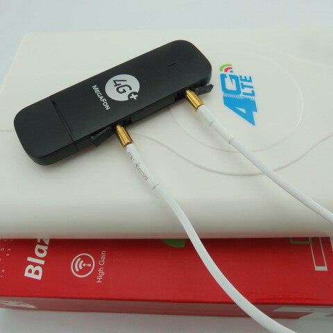Открыл Huawei e3372 m150 2 4 г LTE USB модем + 4 г CRC9 49dbi двойной Телевизионные антенны
