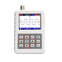 Dso Fnirsi Pro Handheld Mini Portable Digital Oscilloscope 5M Bandwidth 20Msps Sampling Rate hantek dso5102p digital oscilloscope portable 100mhz 2channels 1gsa s record length 40k usb lcd handheld osciloscopio 7 inch