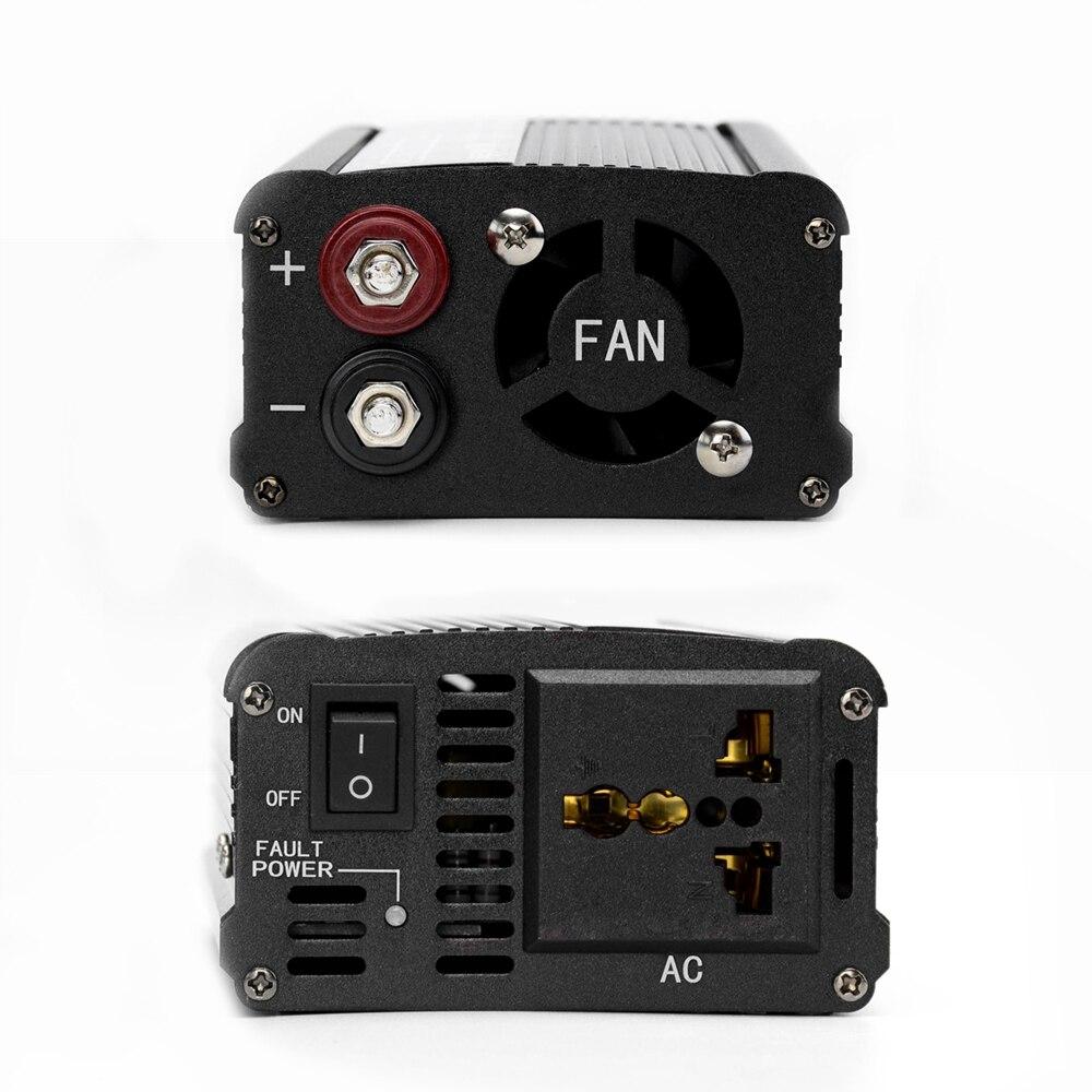 AIYIMA 1000 W pur onduleur à onde sinusoïdale DC12V/24 V à AC220V 50 HZ convertisseur de puissance Booster pour voiture onduleur ménage bricolage - 3