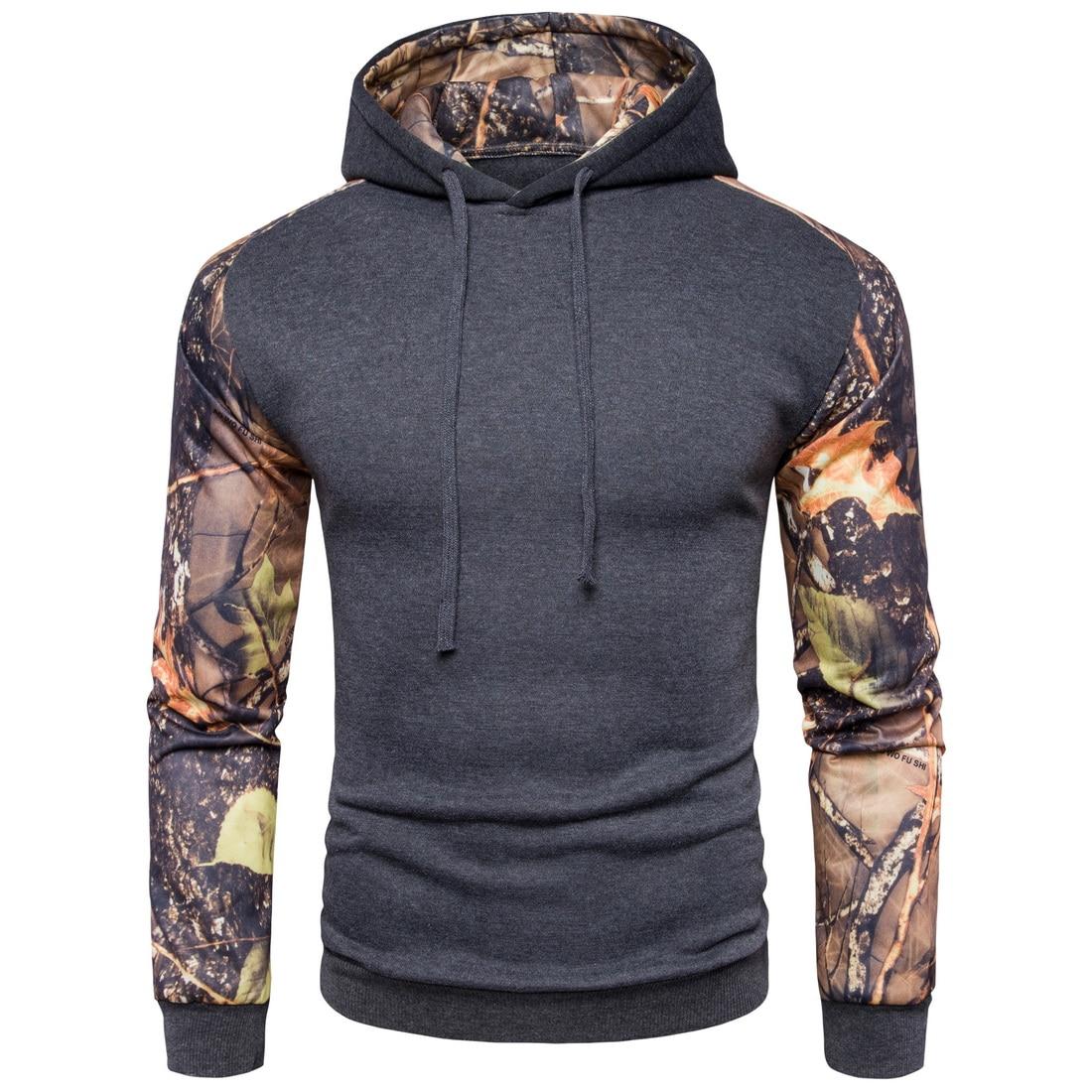 Brand 2017 Hoodie Printing Stitching Hoodies Men Fashion Tracksuit Male Sweatshirt Hoody Mens Purpose Tour XXL