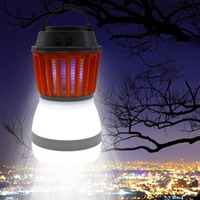 Portable Mosquito Killer Lamp Waterproof LED USB Charging Night Light 5V Insects Flies Pest Bug Killer