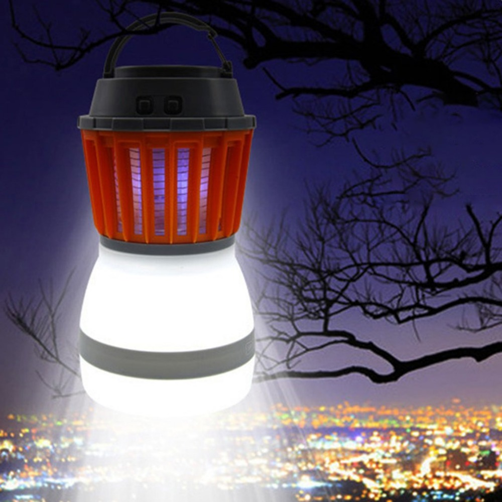 Portable Mosquito Killer Lamp Waterproof LED USB Charging Night Light 5V Insects Flies Pest Bug Killer For Outdoor Camping solar led lamp mosquito killer lamp ip67 waterproof outdoor led light night light 5v insects flies pest zapper killer