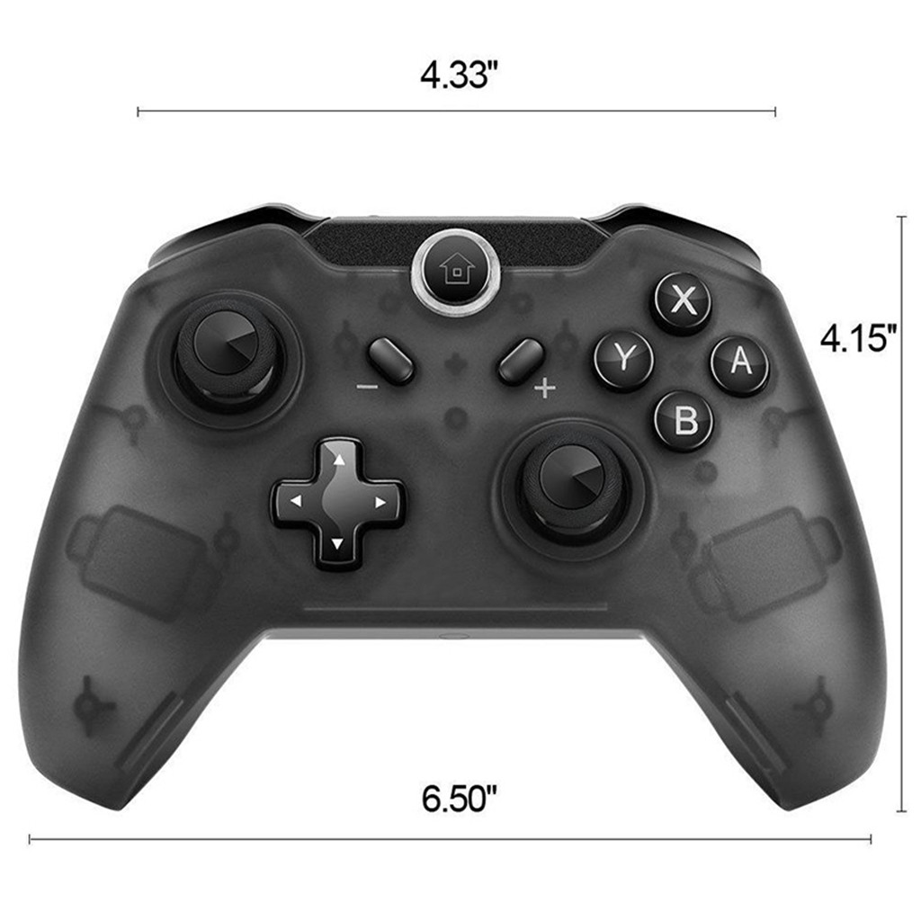 Image 4 - Wireless Bluetooth Pro Controller Gamepad Joypad Remote for Switch Console Classic Video Game Gamer Gaming Emulator Retro Player-in Handheld Game Players from Consumer Electronics
