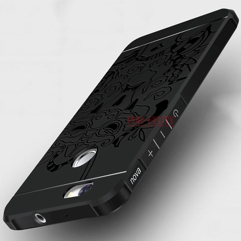 Luxus 3D Protector Soft Silikon Telefon Fall für Huawei Nova können L11 L12 L13 Fall-abdeckung für Huawei Can-L11 Cannes-L12 Cannes-L13