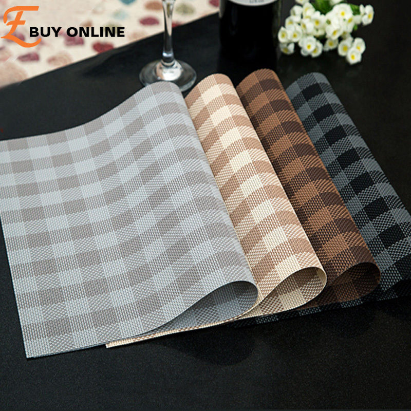 Pvc placemats for table accessories kitchen pad on the - Set de table pvc ...