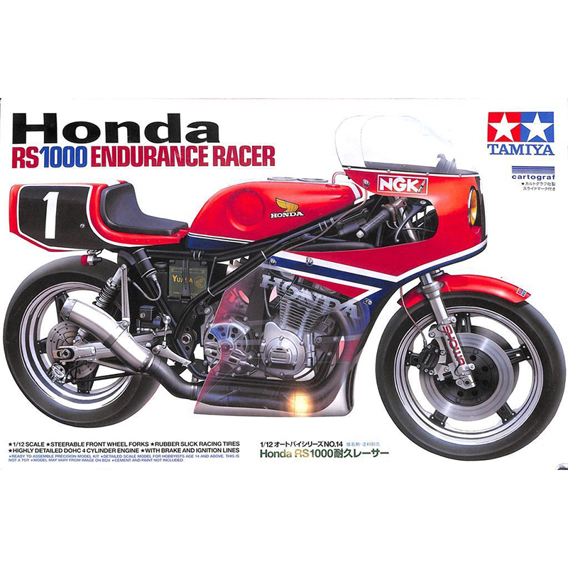 1/12 Scale Motorcycle Model RS 1000 Endurance Racer assembly model kits scale moto model building kit Tamiya 14014 revell model 1 25 scale 85 7457 69 camaro z 28 rs plastic model kit