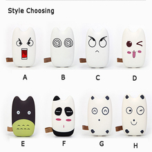 SA10 Cartoon Cute TOTORO Power Bank External Battery Charger 9000mAh USB Portable Battery Backup For Mobile Phones Devices