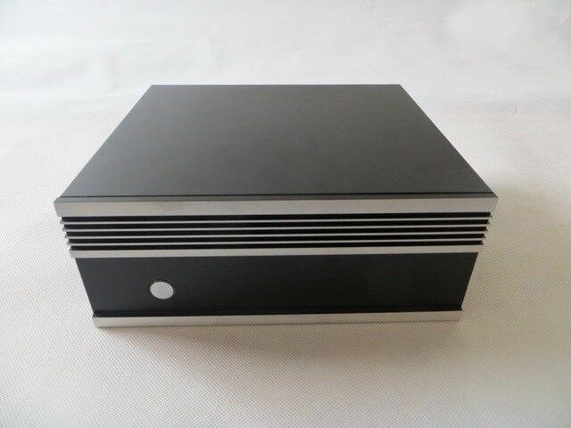 Компьютерный корпус небольшой ITX брандмауэр встроенный Серебро Новые Поступления