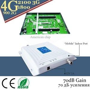 Image 5 - 4G אות מהדר 900 DCS LTE 1800 WCDMA 2100 Tri band אות בוסטרים נייד טלפון 2G 3G 4G טלפון סלולרי מהדר סלולארי