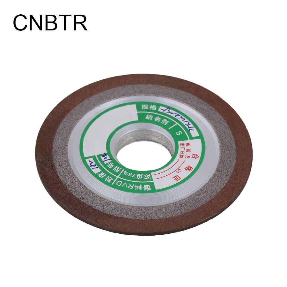 цена на CNBTR 150 Grit Grinder Cutting Deburring Disc Shape Diamond Grinding Wheel 75x8x20mm