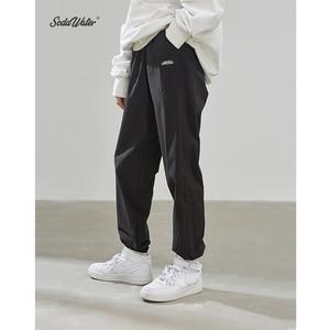 Image 3 - SODAWATER Men Jogger Streetwear 2019 Autumn Winter Loose Baggy Pants Men Hip Hop Casual Solid Color Trousers Track Pants 93353W