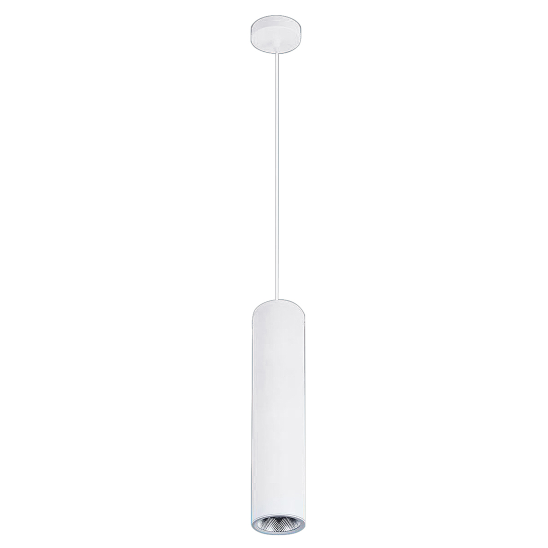 Modern Minimalist Cafe Chandeliers Led Restaurant COB Spotlights Long Tube Hanging Lamp Bar Table Cylindrical Light