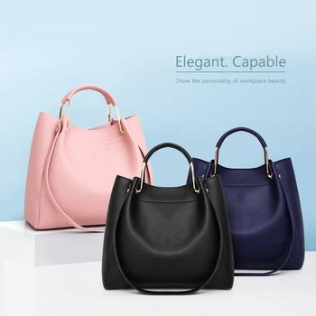 4pcs/set PU Leather Luxury Women Bags Casual Handbags 1
