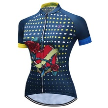 AN RUICHI Elroy Quick Dry Summer Women MTB Bike Clothing Breathable Bicycle Clothes Ropa Ciclismo Girls