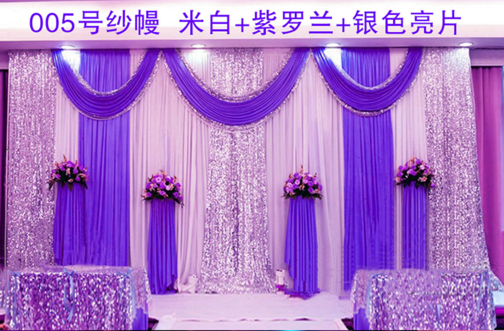 Buy express free shipping wedding stage for Backdrops for stage decoration