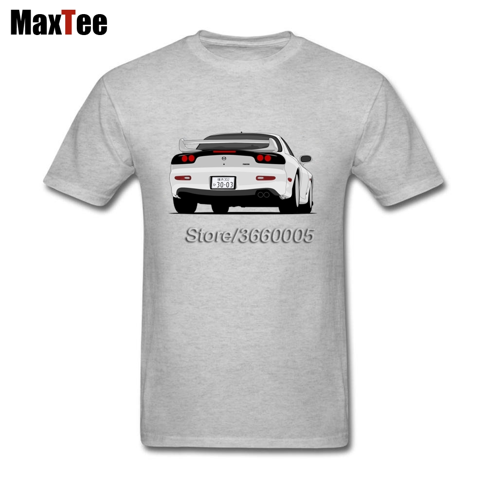 2017 Branded Hip Hop Tees Shirt Mazda RX7 Mens Best Fitted Short Sleeve Custom Shirts Fan Big and Tall Official Merchandise