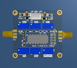 Image 2 - DYKB UAF42 مرشح نشط قابل للتعديل هايباس/لوممر/باندباس تصفية مجلس Q قيمة وحدة ل هام راديو مكبر للصوت