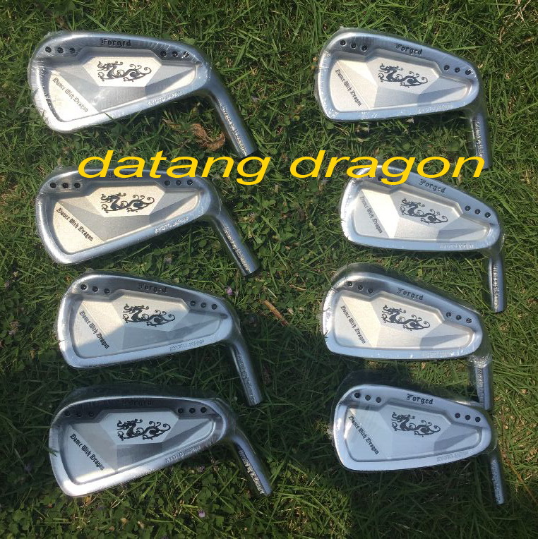 New golf irons Dance With Dragon forged irons with original true temper S300 steel shaft authentic golf clubs brand new original authentic brs15b